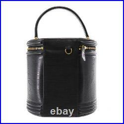 Louis Vuitton Cannes Hand Bag Black Epi Leather M48032 Vintage Auth #AB535 S
