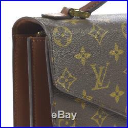 Louis Vuitton Concorde Business Hand Bag Satchel Monogram M51190 Mi8903 Ak37784