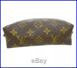Louis Vuitton Crossbody Pouch Clutch Bag. W Generic Gold Chain. US Seller