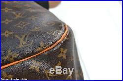 Louis Vuitton Delightful Gm Monogram Leather Shoulder Bag Tote Handbag Purse