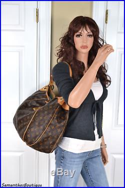 Louis Vuitton Galliera Gm Monogram Leather Hobo Shoulder Bag Tote Handbag Purse