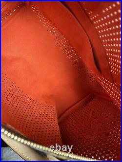Louis Vuitton Limited Edition Monogram Perforated Speedy 30 Orange
