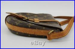 Louis Vuitton Monogram Crossbody Shoulder Bag Chantilly PM Brown Gold