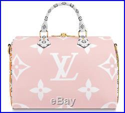 Louis Vuitton Monogram Giant SPEEDY 30 Pink Red bag neverfull metis 2019 summer