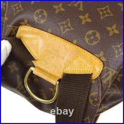 Louis Vuitton Montsouris Gm Backpack Bag Mi0030 Purse Monogram M51135 40300