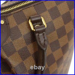 Louis Vuitton Siena MM 2way Hand Bag Ri1167 Purse Damier Canvas N41546 00126