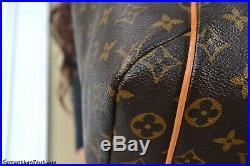 Louis Vuitton Totally MM Monogram Leather Tote Shoulder Bag Hobo Handbag Purse