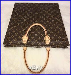 Louis Vuitton Tote Sac Plat GM Classic Bag with Dustbag & Name tag AUTHENTIC