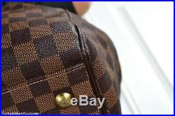 Louis Vuitton Trevi Gm Damier Ebene Leather Satchel Shoulder Bag Handbag Purse