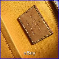Louis Vuitton Vernis Alma BB Jaune Passion Gold