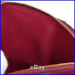 Louis Vuitton Vernis Alma Bb Mi4152 Hand Bag Rose Indian Patent M91771 Nr13512