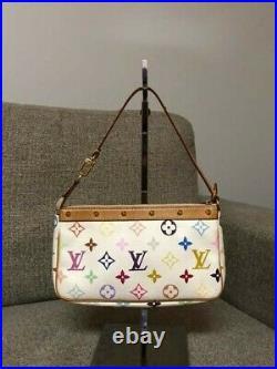 Louis vuitton m51980, White, Authentic handbag, small