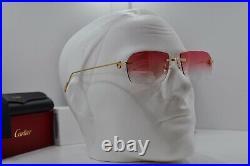 NEW 020 RIMLESS PREMIÈRE CARTIER Sunglasses Occhiali Brille Lunette Frame