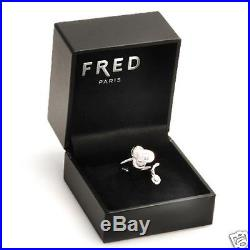 New Fred Made in France! 18K White Gold Ring