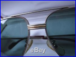 New Vintage Cartier Aviator Titanium 62mm Medium Vendome Sunglasses France