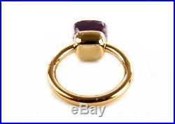 POMELLATO Ring Nudo classic Weiss- Rotgold 18Kt Rose de France NEU