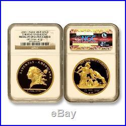 Paris Mint 2001 Libertas Americana Gold NGC PF69 ULTRA CAMEO SKU#6581