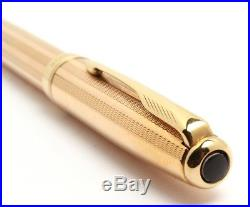 Parker Sonnet Pink Gold BallPoint Pen Rare Vintage Stock Made In France New