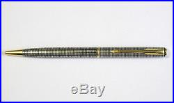 Parker Sterling Silver Cisele & Gold Ballpoint New New In Box Made In France