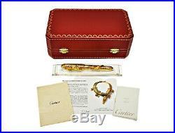 Precious Cartier La Dona Crocodiles Fountain Pen