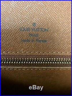 Preowned AUTHENTIC LOUIS VUITTON MONCEAU MONOGRAM CROSSBODY Good Condition
