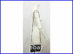 Rare 100%Auth CHANEL Vintage WOC Wallet on Chain Shoulder Cross Body Leather