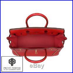 Rouge Tomate New Birkin 30cm Tomato Red Hermes Bag Clemence Gold Ghw Bnib 2016