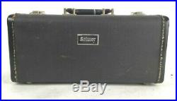 SELMER Bb 3-VALVE PICCOLO TRUMPET & CASE RARE FIND QUALITY VINTAGE MADE IN PARIS