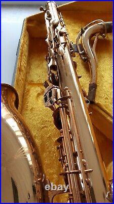 SML Gold Medal tenor saxophone 1961-62