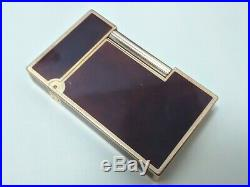 ST Dupont Gatsby Lighter Laque de Chine Gold Plated Trim