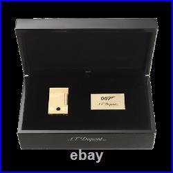 S. T. Dupont James Bond 007 Gold Plated, Ligne 2 Lighter 016318 (16318), NIB