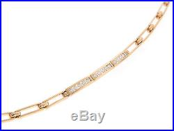 Tiffany & Co. 18K Yellow Gold Diamond Bracelet, RETIRED, Made in France
