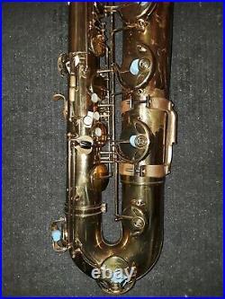 VINTAGE 1964 SELMER PARIS MARK VI BARITONE SAX 119XXX EX prof owned