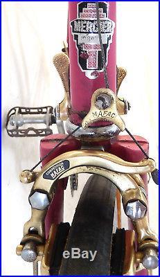 VINTAGE MERCIER 1970's BIKE MADE IN FRANCE SIMPLEX MAFAC GOLD SERIE