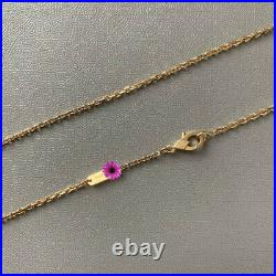 Van Cleef & Arpels VCA MAGIC Yellow Gold White MOP Alhambra Long Necklace Chain