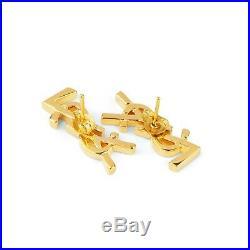 YSL Earrings Logo Studs Women Ear rings in gold Yves Saint Laurent Jewelry